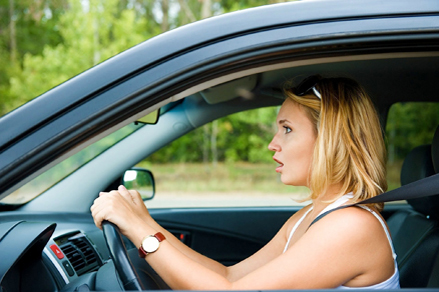 hypnosis fear on driving